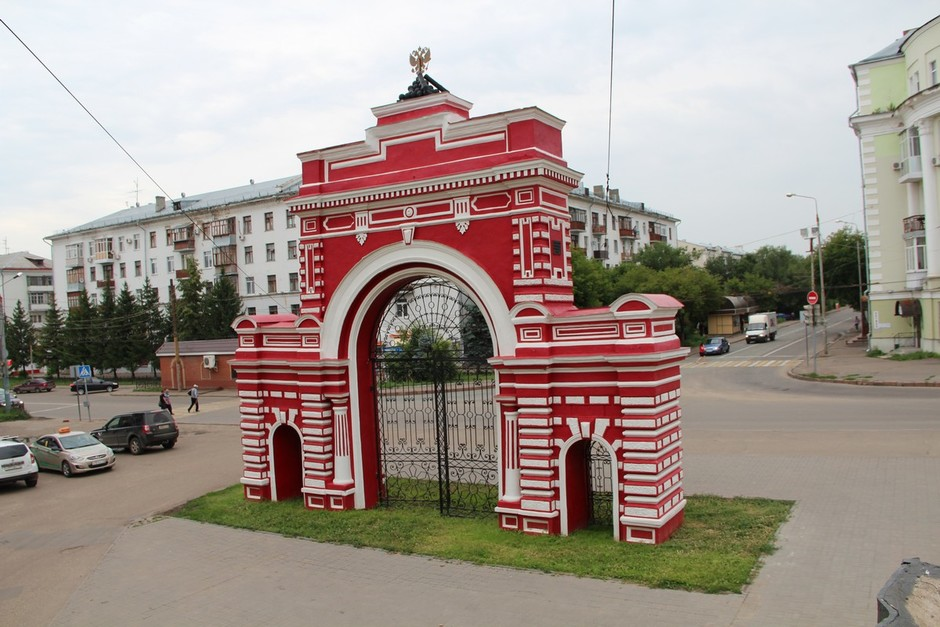 Казань парк петрова фото