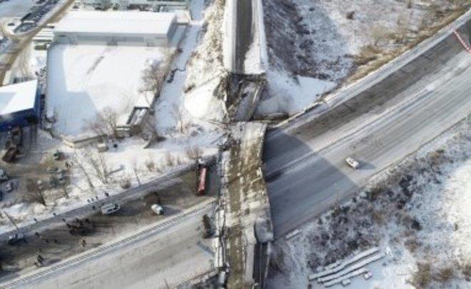 Власти Оренбуржья и Следком разошлись во взглядах на причины обрушения моста в регионе